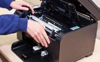 Что значит нет тонера в принтере