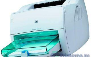 Лазерный принтер HP LaserJet 1000