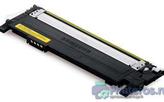 Заправка картриджа Samsung CLP-360 / 365 / CLX3305