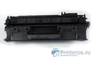 Заправка картриджа HP CE505A