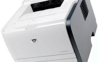 Лазерный принтер HP LaserJet P2055