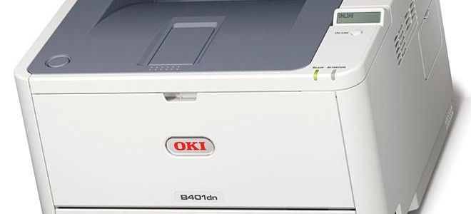 OKI B401: Сброс счетчика драм-картриджа