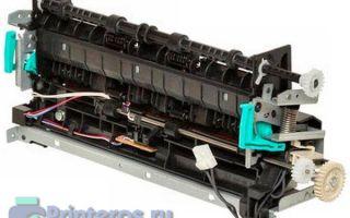 Устройство печки принтера: термопленки или тефлоновые валы