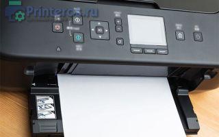 Принтер или МФУ не видит бумагу. Ищем причину и решение проблемы
