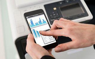 Как распечатать документы с iPhone или iPad