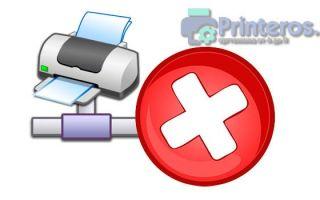 Сетевой принтер не печатает. Решение проблемы