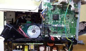 Не запекается изображение на МФУ OKI MB441: Решение проблемы. Инструкция по разборке
