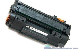 Заправка картриджа HP Q5949A (№49A)