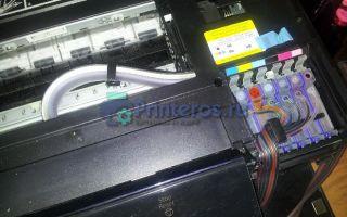После заправки картриджа не печатает принтер
