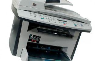 Лазерное МФУ HP LaserJet 3055