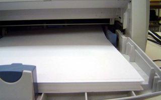 Почему принтер может захватывать сразу несколько листов