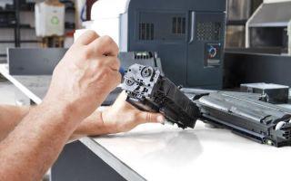 Как осуществить заправку лазерных картриджей?