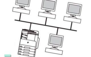 Подключение принтера по локальной сети