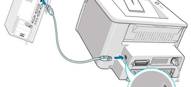 Решение проблем, при которых система выдает сообщение,  что принтер не подключен