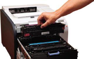 Сообщение о том что тонер заканчивается или как можно проверить картридж принтера