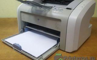 Принтер HP LaserJet 1020 не печатает. Причины и решение проблемы