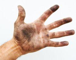 Как смыть чернила от принтера с рук