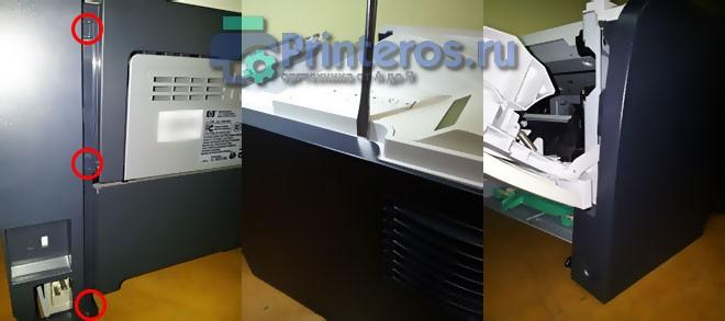 Разбор принтера HP P2055