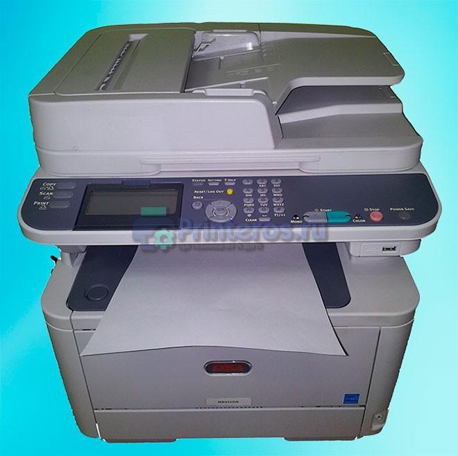 принтер печатает пустой лист