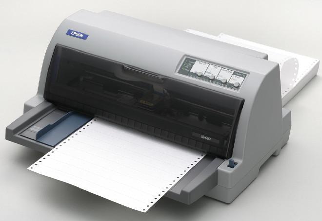 Фотография матричного принтера