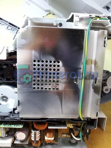 Принтер OKI MB441 экран платы форматтера