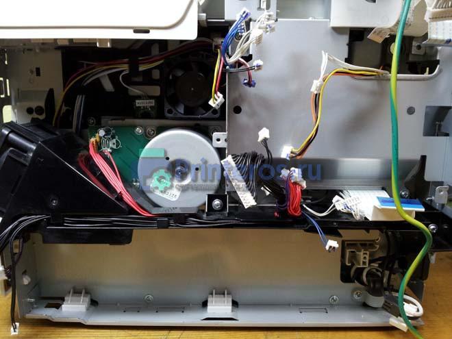 установка плат на принтер оки