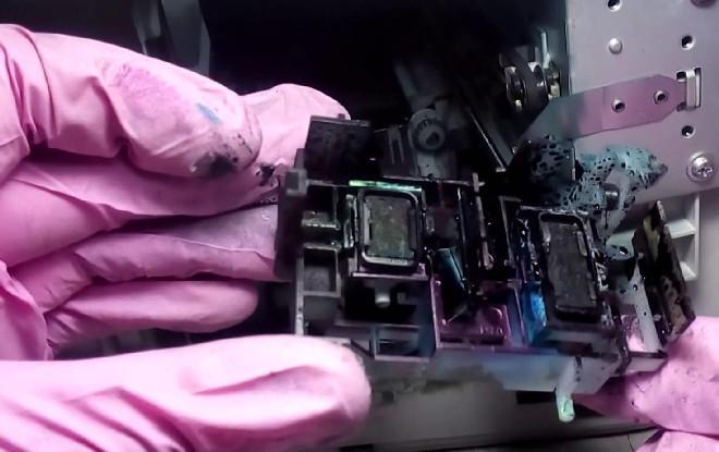 абсорбер струйного принтера