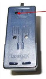 Верхняя крышка струйного картриджа