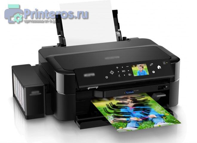 Мажущий при печати струйный принтер