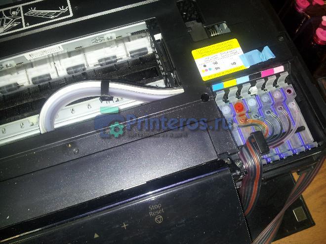 Принтер который не печатает после заправки