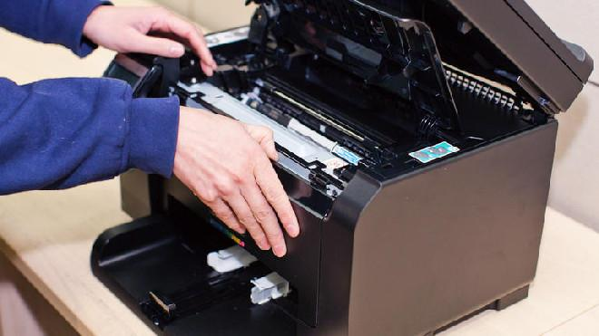 Нет тонера в принтере
