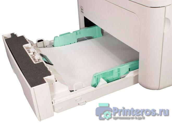 Принтер не захватывающий бумагу