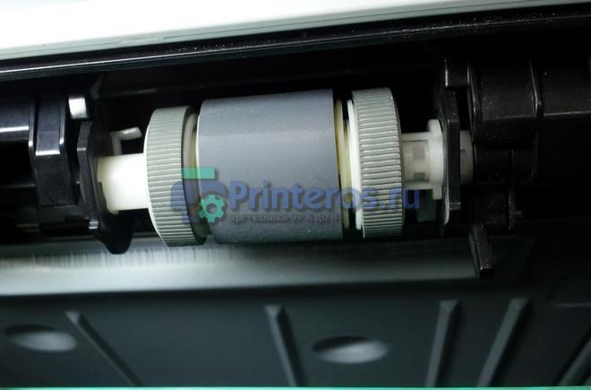 Диагностика ролика подачи принтера