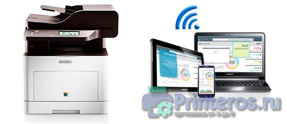 Процесс печати на виртуальном принтере