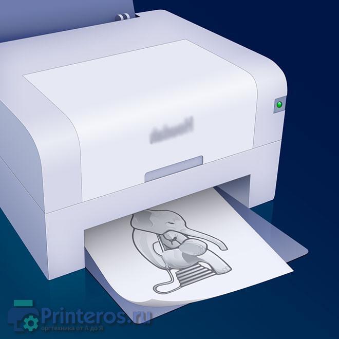 Изображение виртуального принтера