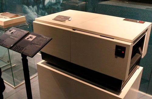 Кэнон ЛБП 10 первый лазерный принтер