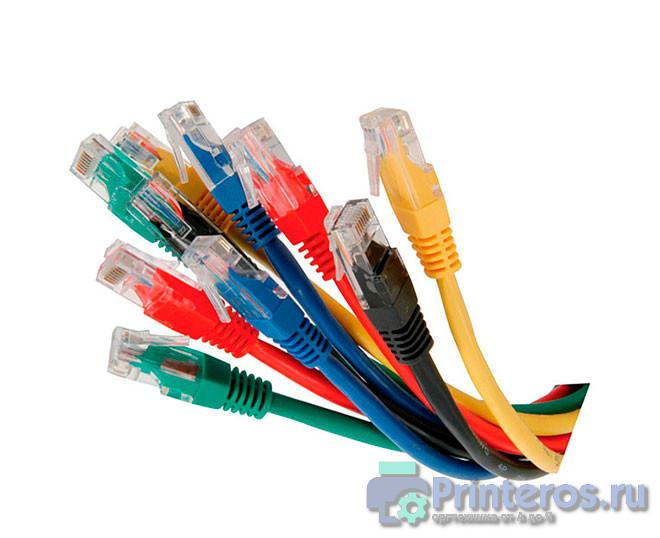 Набор кабелей для сетевого подключения принтера