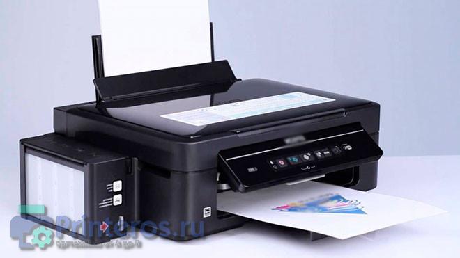 Фото принтера у которого нужно посмотреть историю печати