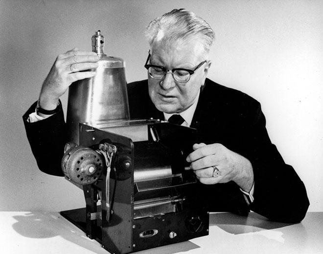 Изобретатель первого лазерного принтера