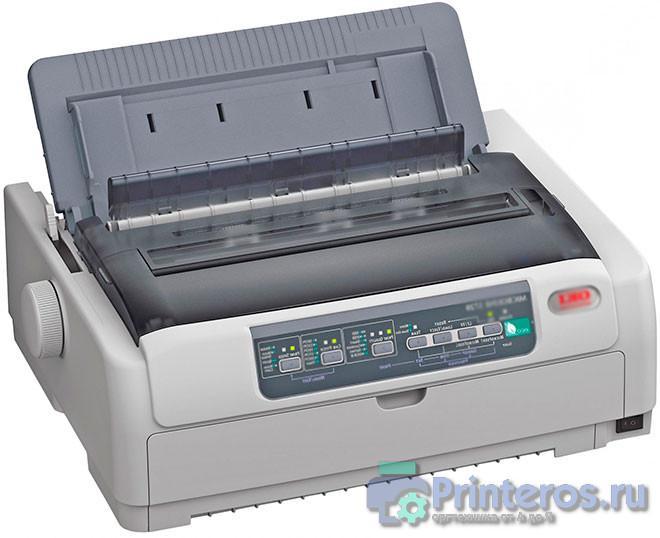 Изображение матричного принтера