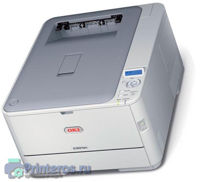Один из светодиодных принтеров Оки