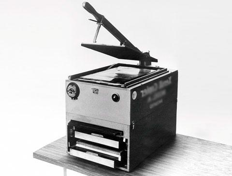 Первый ксерокс модель а