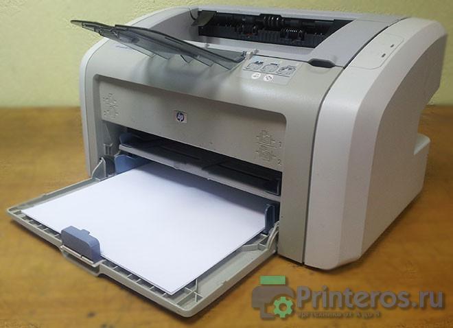 Не печатающий HP 1020